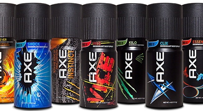 Axe Body Spray - (I Don't Give A) You Know!!!